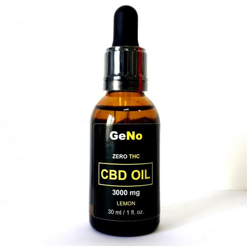 CBD масло 10% CBD Oil 3000mg GeNO 30мл Lemon