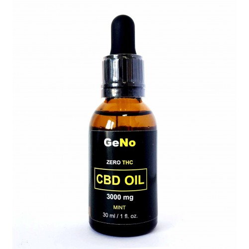 CBD масло 10% CBD Oil 3000mg GeNO 30мл Mint