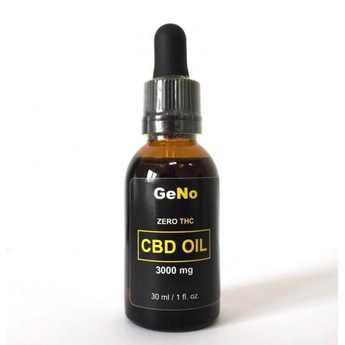 КБД масло CBD Oil 3000mg GeNO 30мл