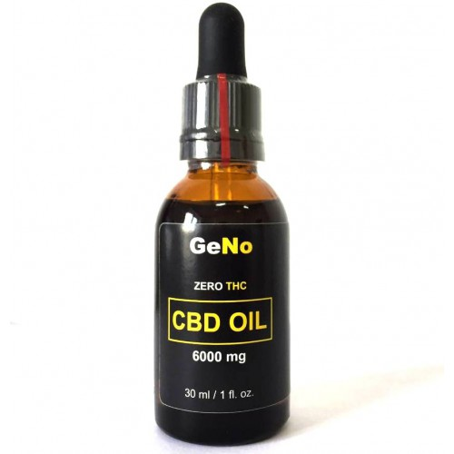 КБД масло CBD Oil 6000mg GeNO 30мл