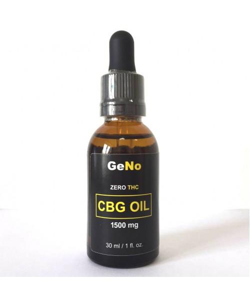 CBG масло 1500mg GeNO 30мл