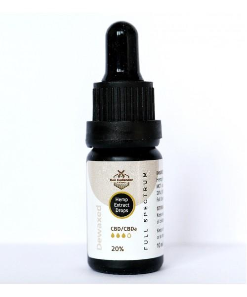 CBD Oil 20% DEWAXED 10ml
